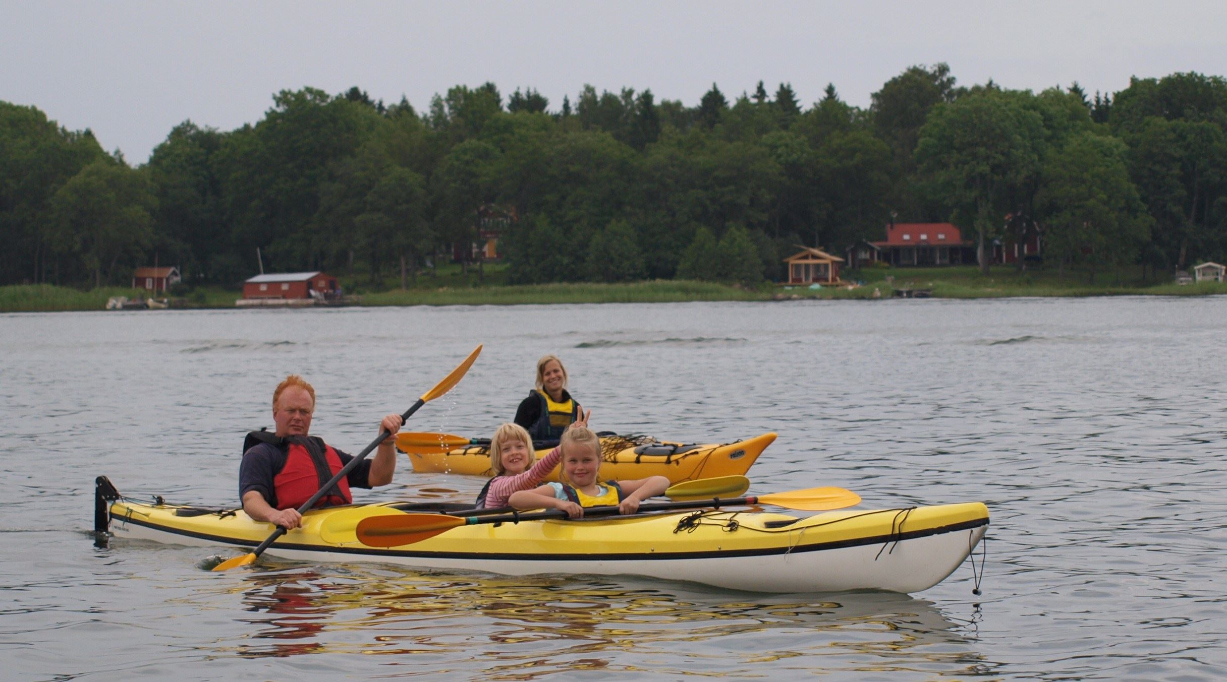 Familly Fun Paddle with Kajak och Uteliv