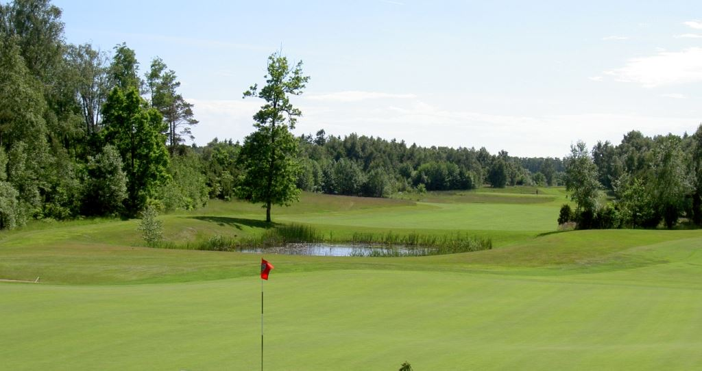 Varberg GC West course