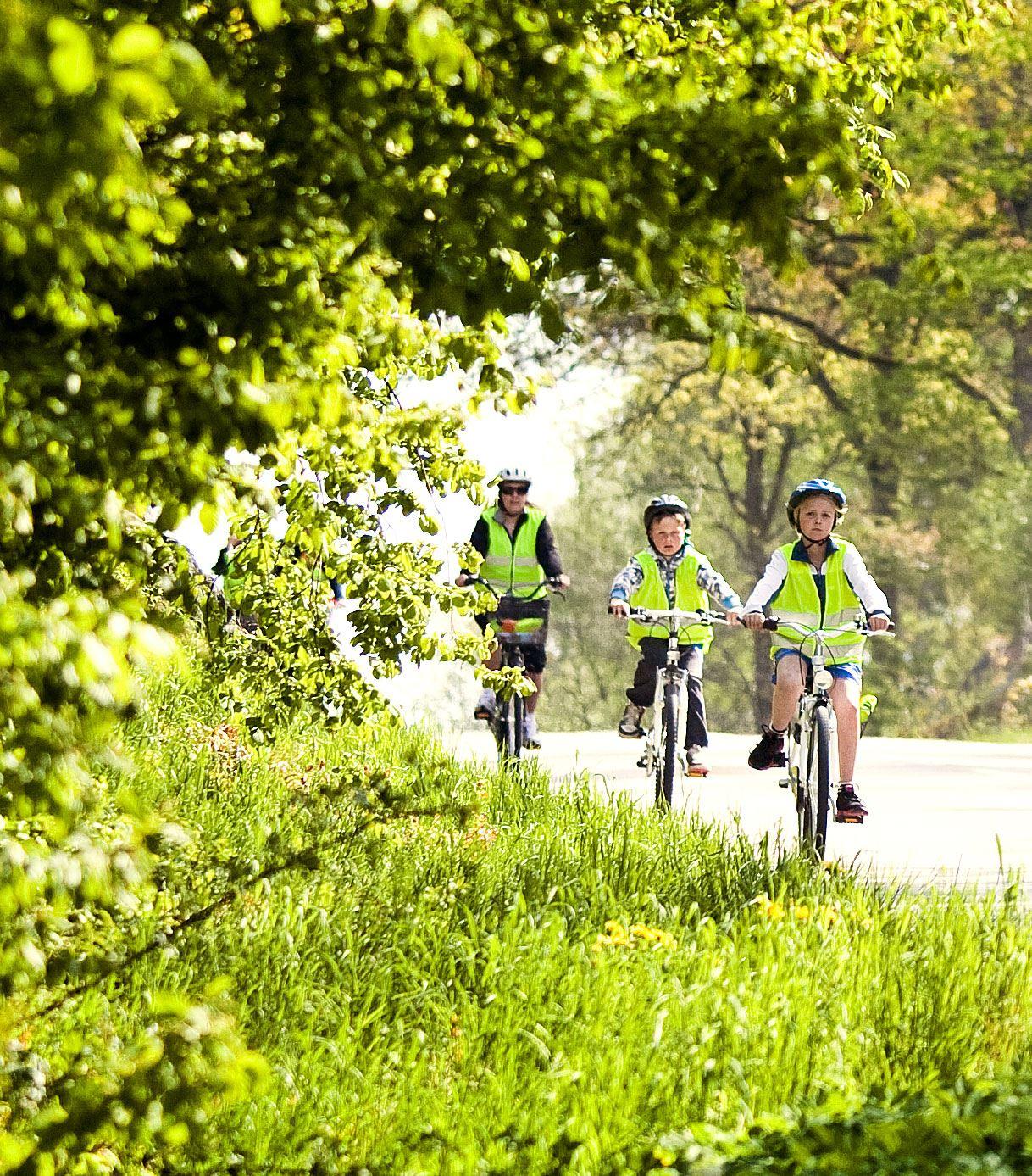 Radfahren auf der Insel Aspö