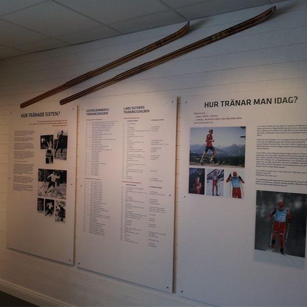 Sixten Jernberg-museum i Limedsforsen