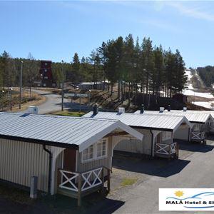Malå Hotell och Ski Event, Hotel cabins