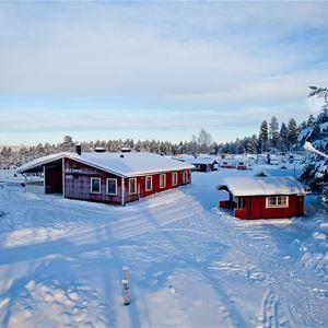 Ricke.nu, Malå Hotell & Ski Event, campingstugor