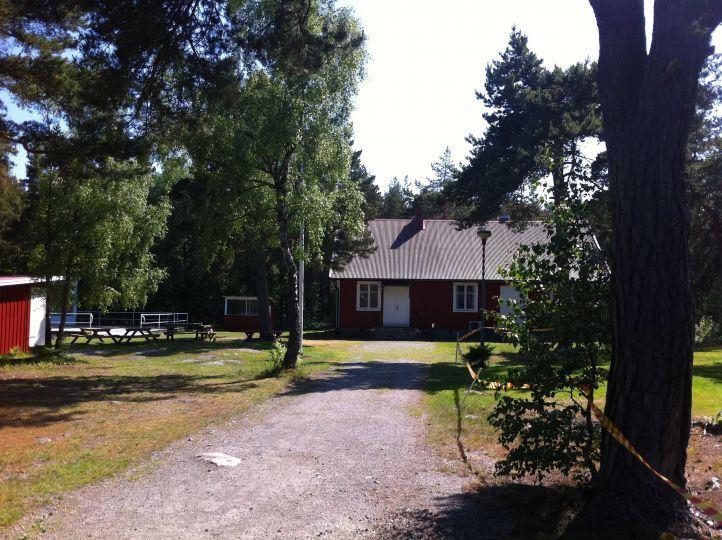 Parking caravan/motorhome - Aspö Folkets Hus