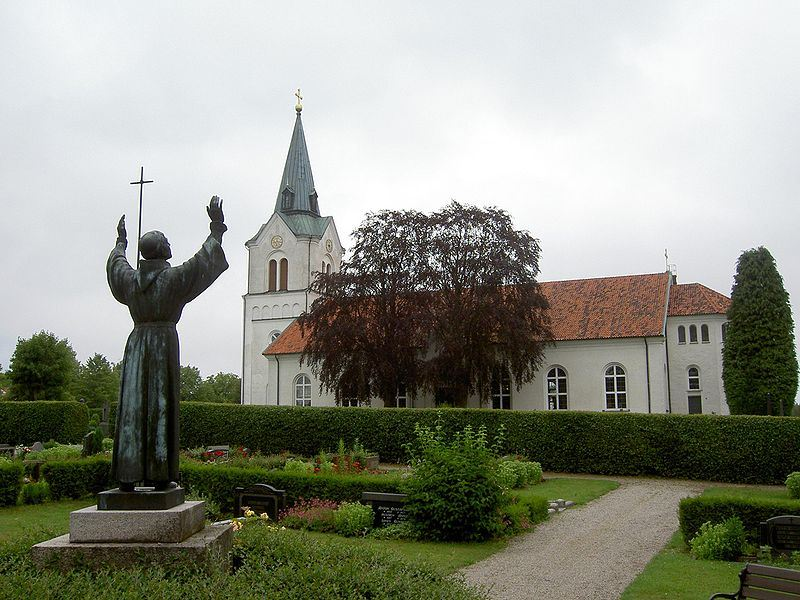 The church of Kyrkhult