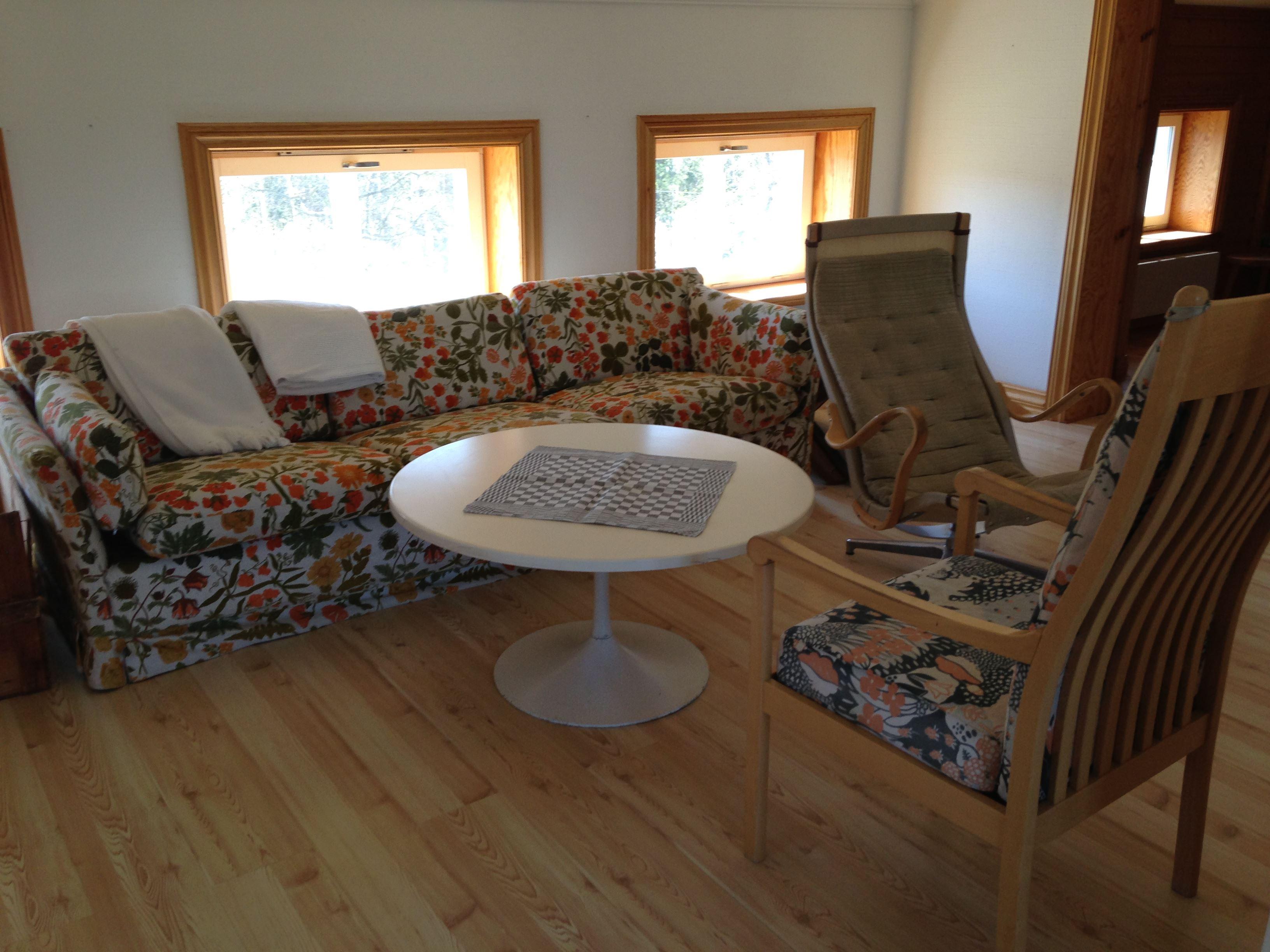 Storholmen's room accommodation on a farm