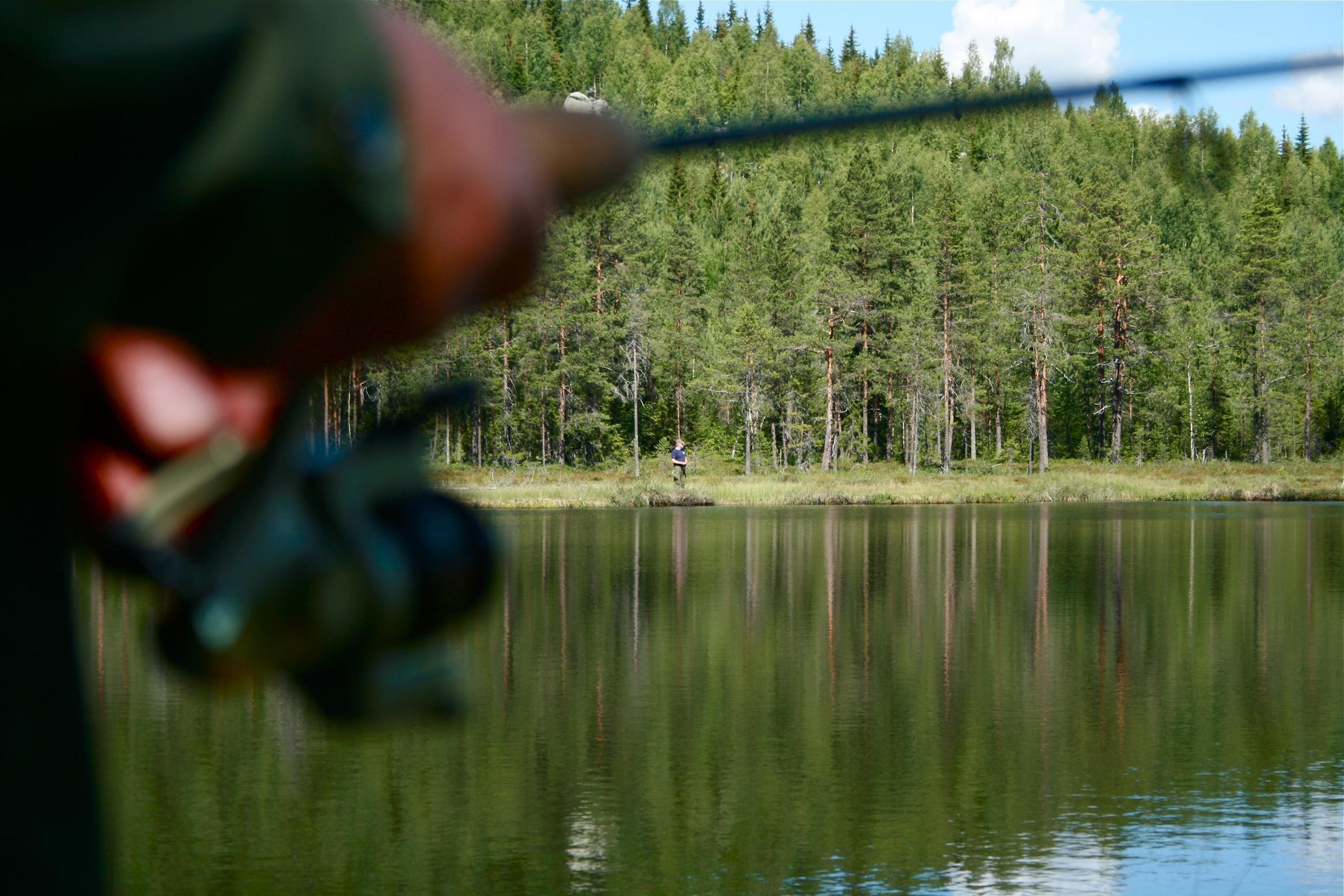 Fishing license in Storjärptjärn