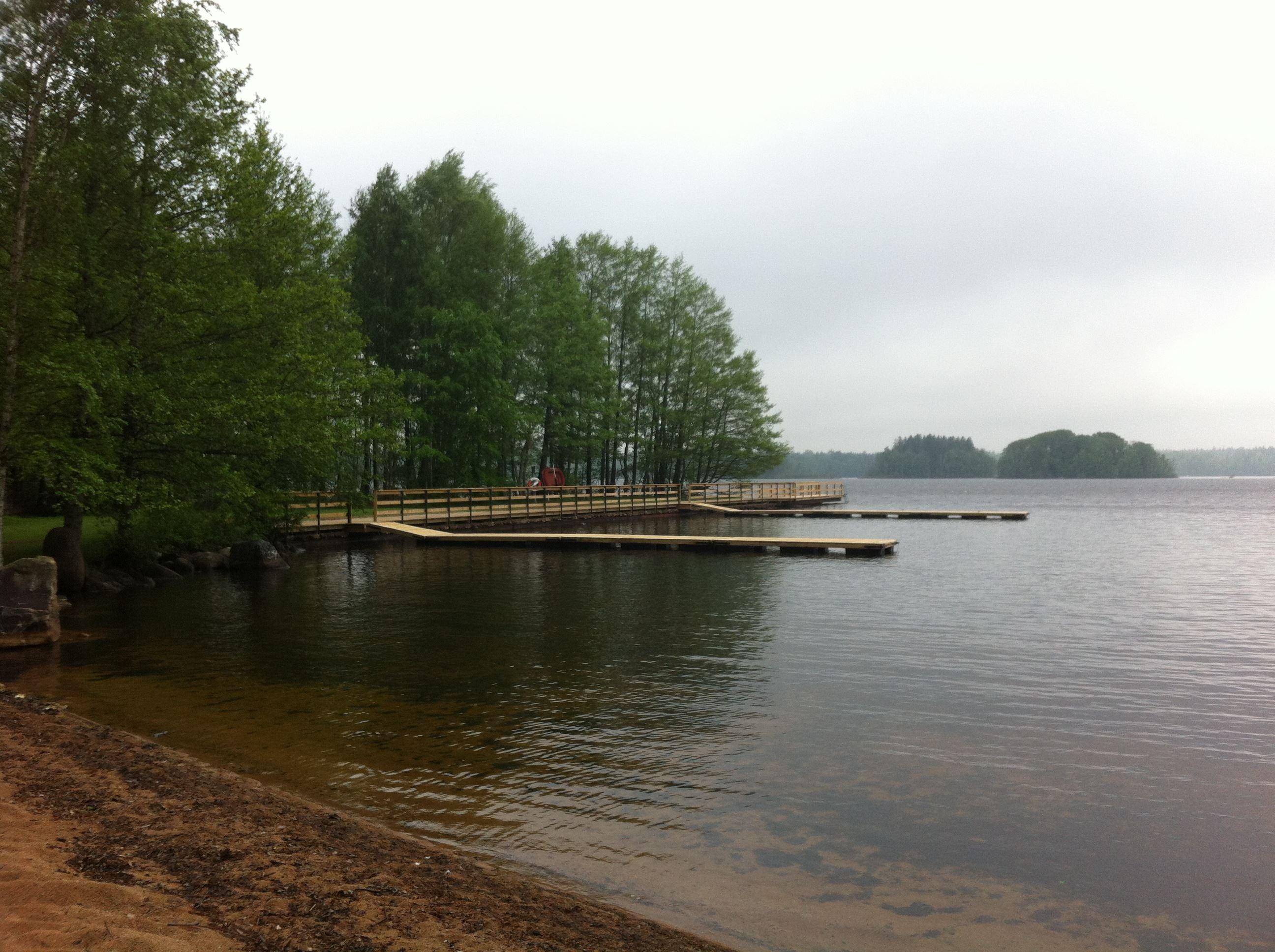 Badplats Blötan - Stora Hensjön