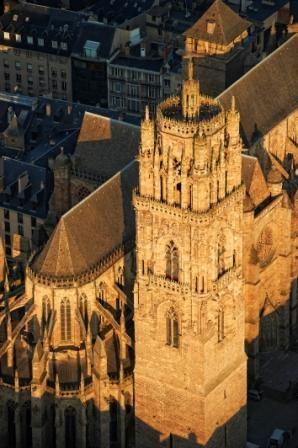 A la découverte du clocher de la cathédrale