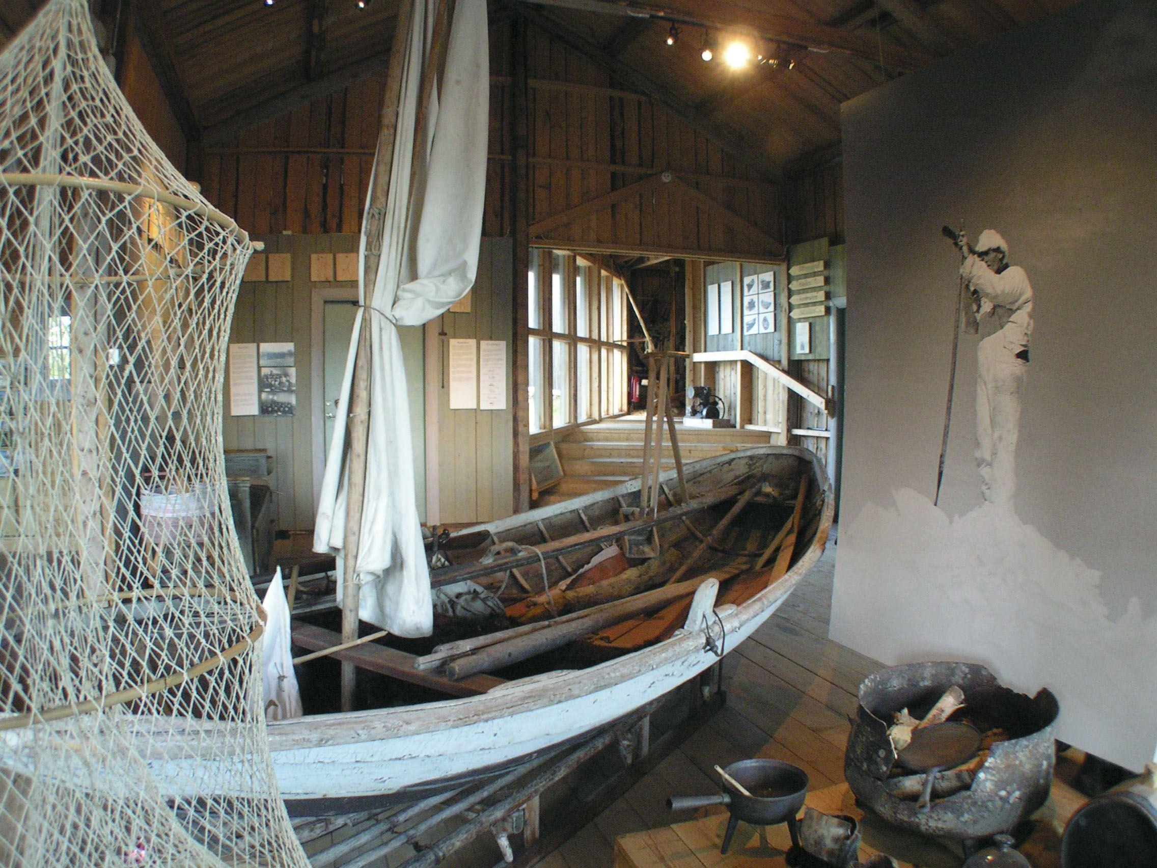 Umeå turistbyrå,  © Umeå turistbyrå, Holmöns båtmuseum