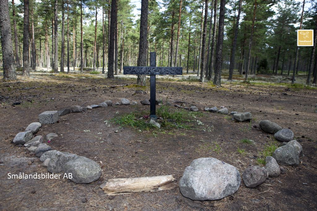 Smålandsbilder, Falk's grave