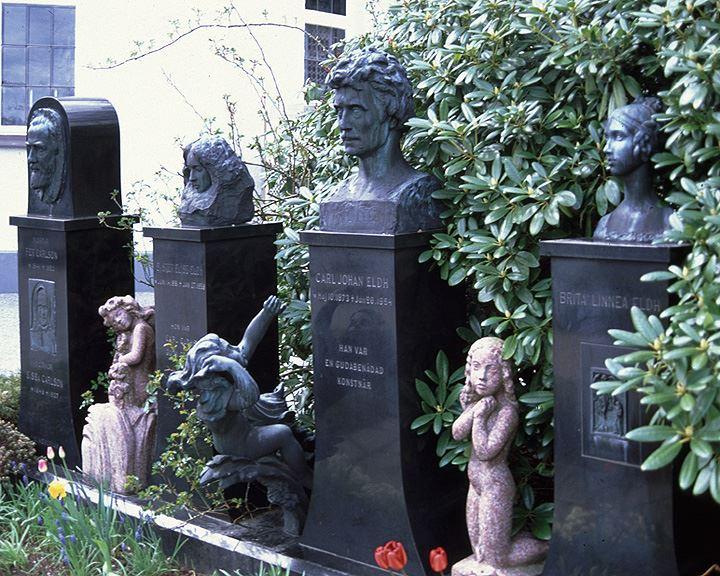 Carl Eldh's statues
