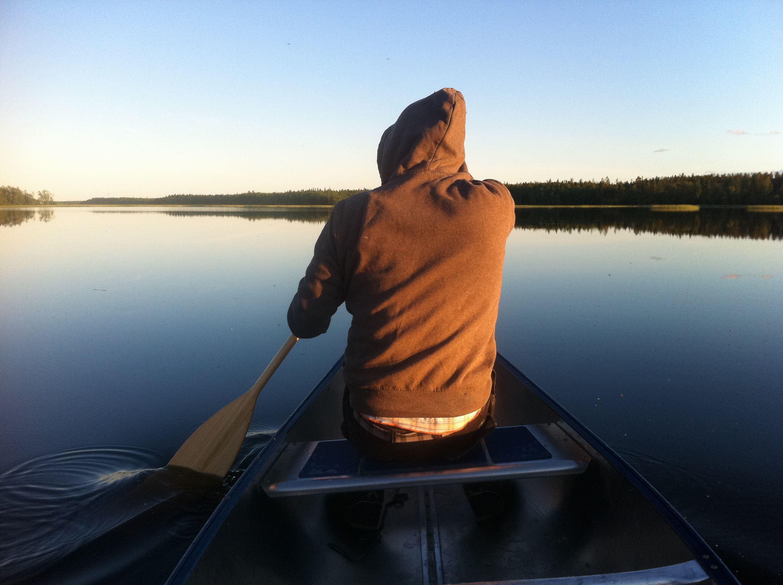 Örjan Forsberg, Canoe paddling with UmeNatur