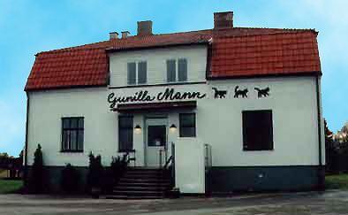 Gunilla Manns ateljé i Kosta