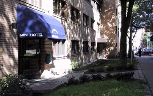 Entre till Göteborgs mini-hotell