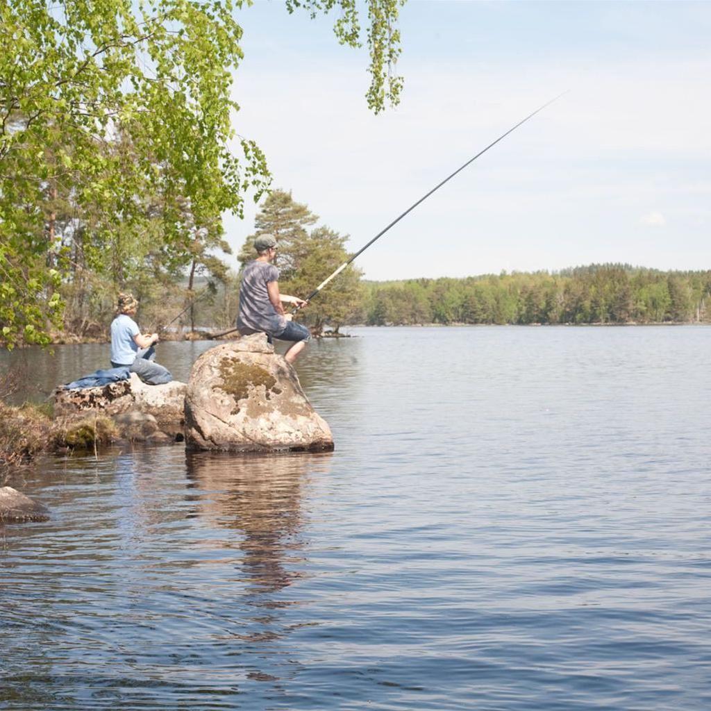 © Värnamo Näringsliv AB , Fiske vid Sandviks Fiskecamp