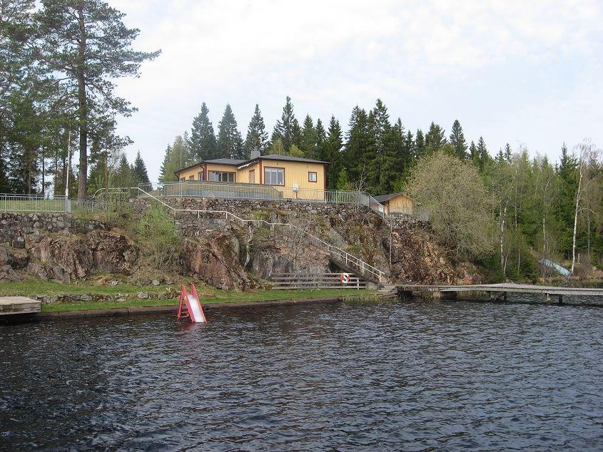 Klappa bathing area, Klappasjön lake, Malmbäck