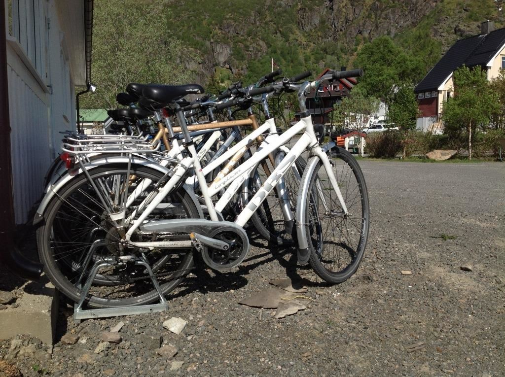 © Lofoten rorbuer, Sykler i ulike størrelser og varianter