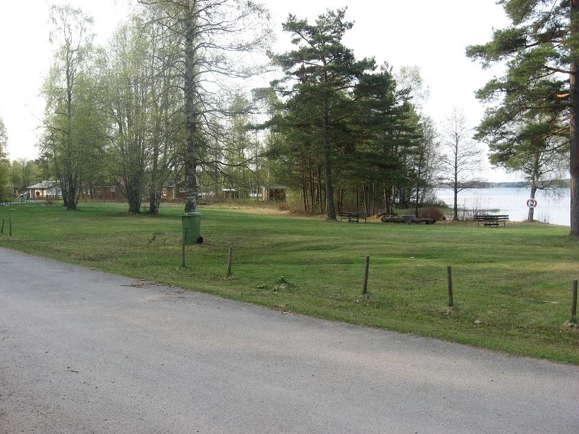 Grimstorp bathing area, Storesjön lake