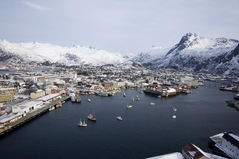 © LINK Vinter, Svolvær vinter