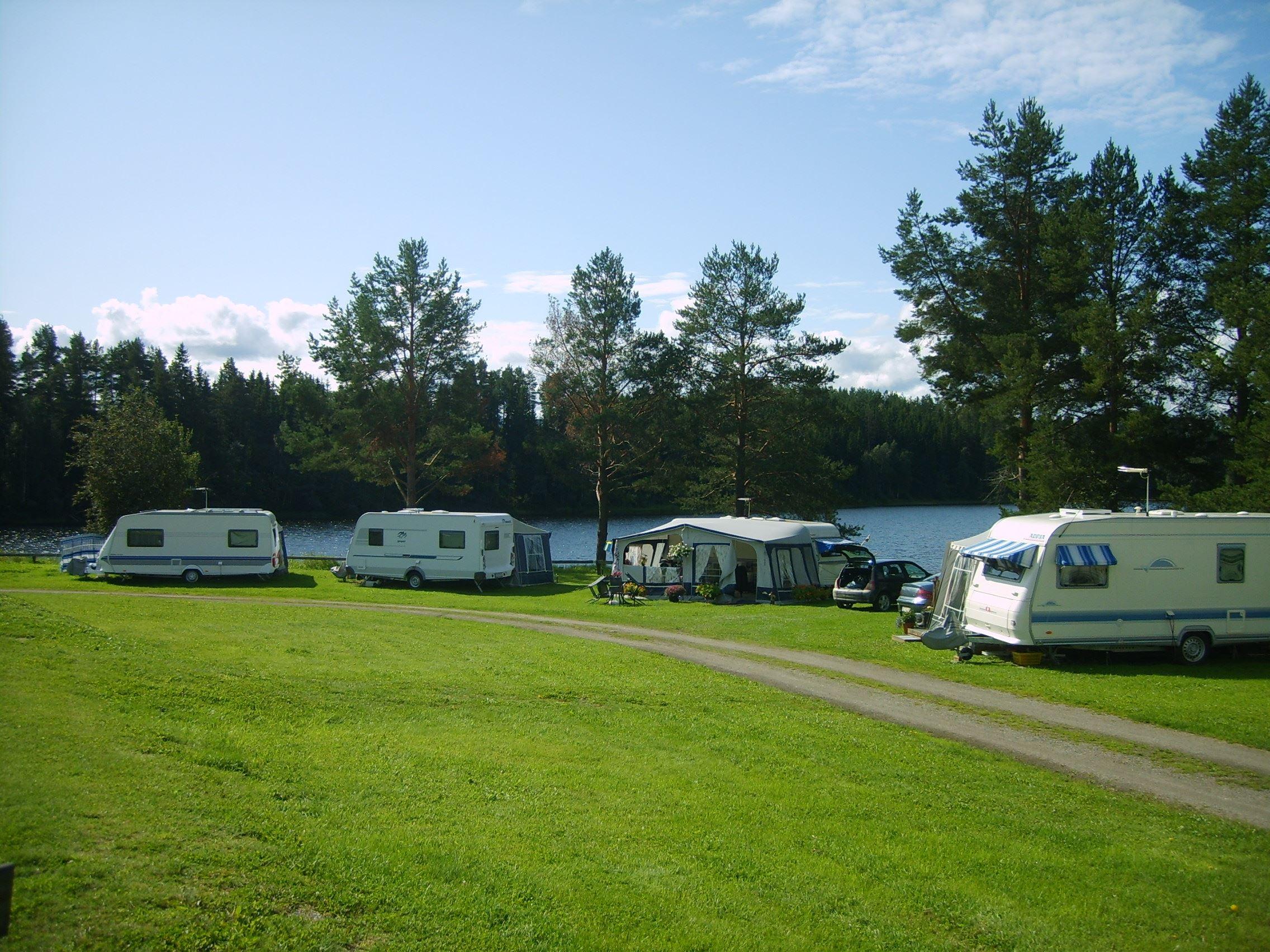 Stöde Camping Wohnwagen und Zeltplätze