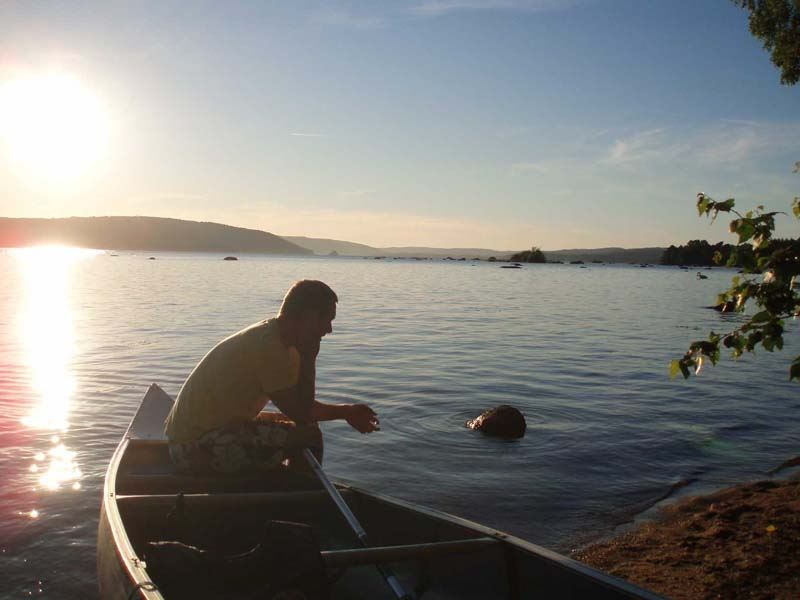 Wetlandi Family canoe fishing - 2 nights