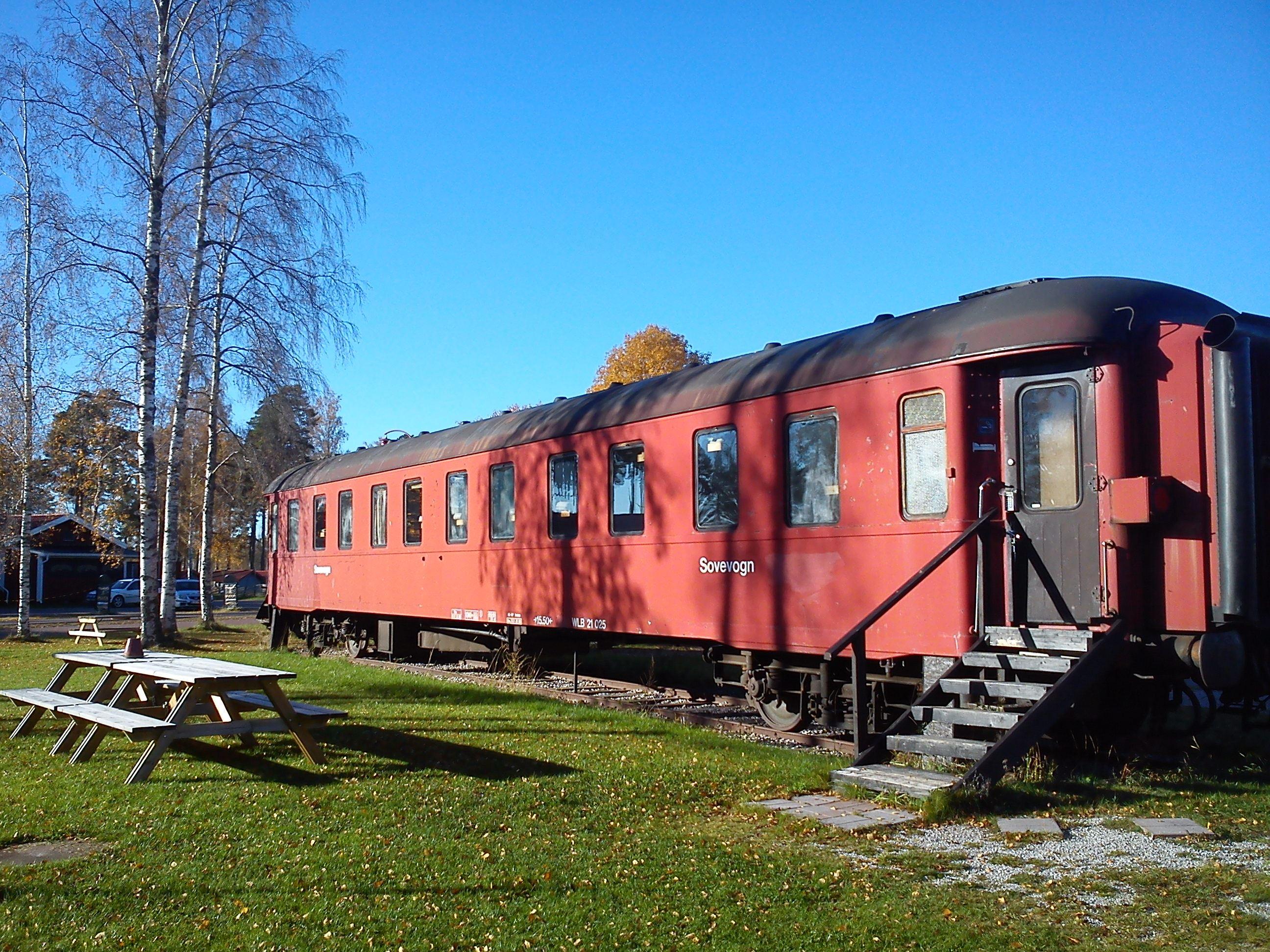 Tågstallarna hostel in Rättvik, Dalarna, SVIF
