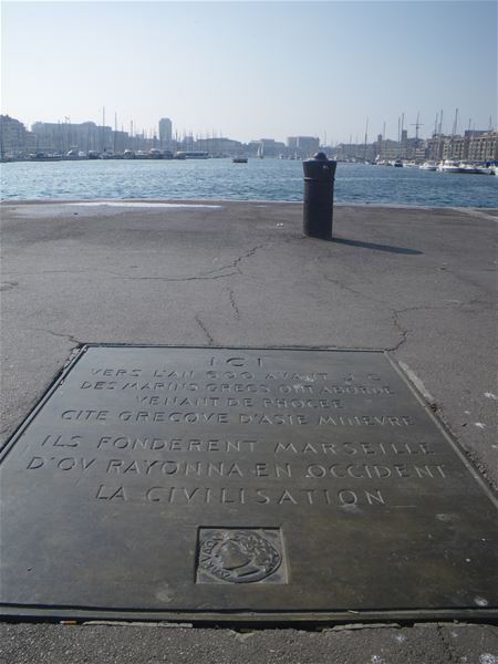 La naissance de Marseille