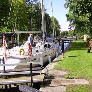 Göta Kanal, Hajstorp Jugendherberge, Töreboda