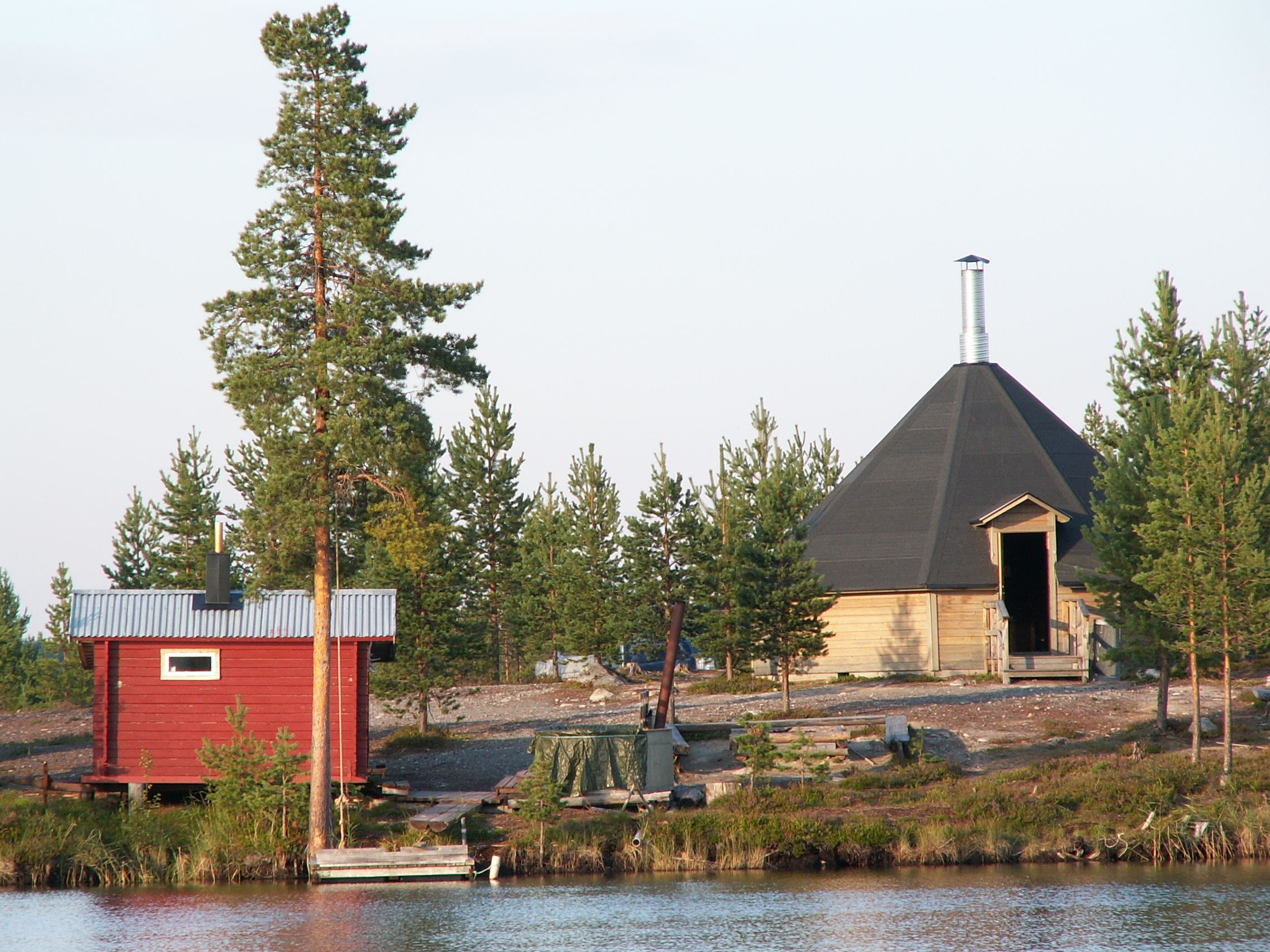 Vildmarkscamp in Malå