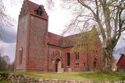 Gumlösa Church - Gumlösa kyrka