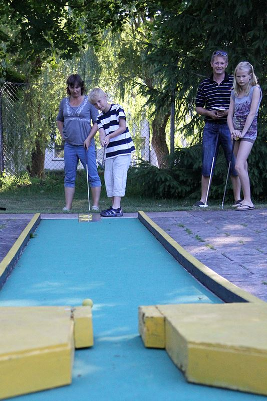 © Lantz, Tomelilla Miniature golf course