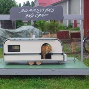 En camping där det även finns plats för oss.