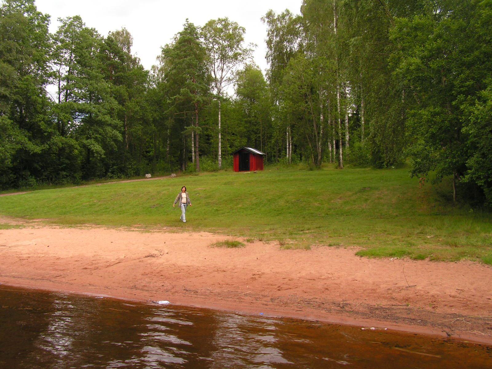 Gislaveds kommun, Borlången badplats