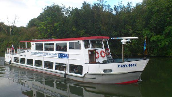 """Descente de la Seine, le 16 juin, à bord du """"EVA NA"""""""