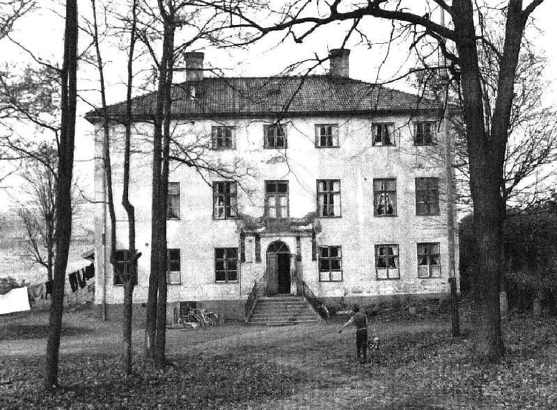 Per Mattsson, Brynäs herrgård i början av 1960-talet.