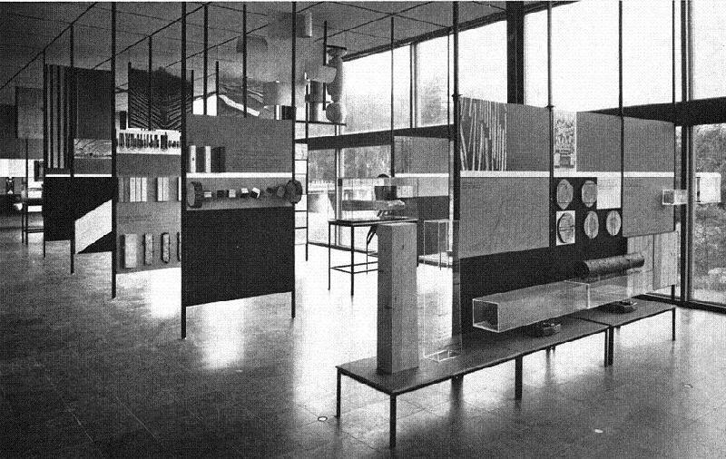 Ur Skogsmuseet Silvanums samlingar., Del av Silvanums utställning under början av 1960-talet.