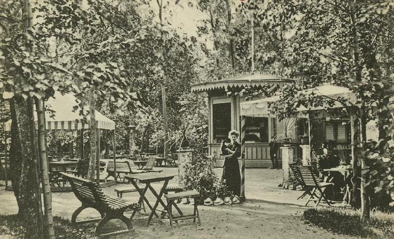 Foto ur Länsmuseet Gävleborgs samlingar., Café Solglimten