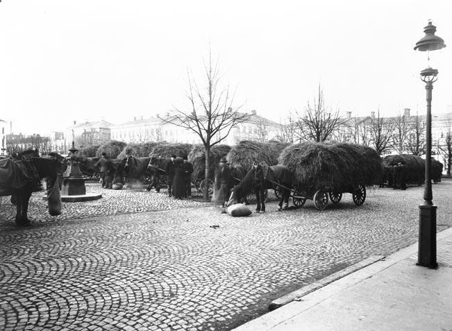 Länsmuseet Gävleborg., Stortorget i början av 1900-talet.