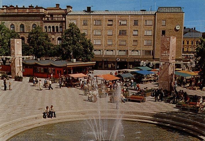 Länsmuseet Gävleborg., Stortorget under 1980-talet.