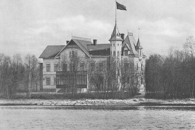 Gävle Stadsarkiv, Villa Rettig.