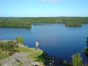 Sjön Orlunden