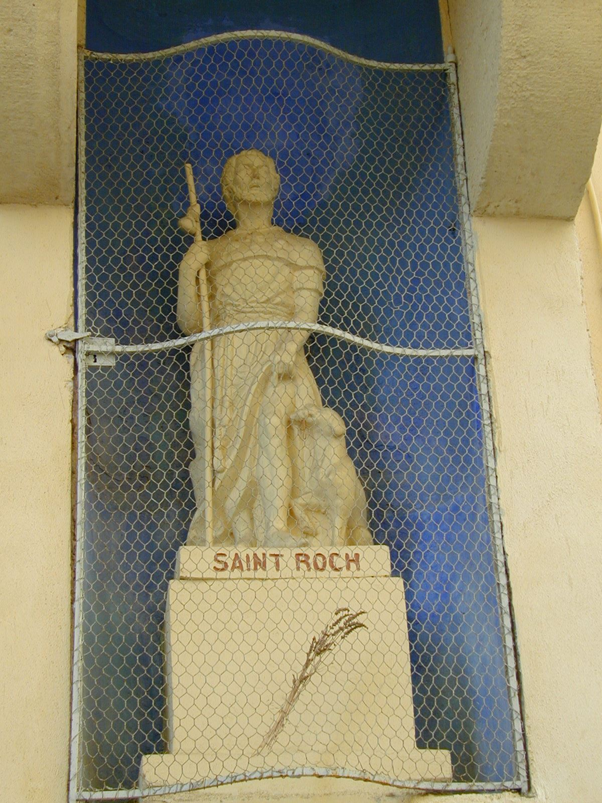 Sobre las huellas de Saint Roch (Visita en francés)