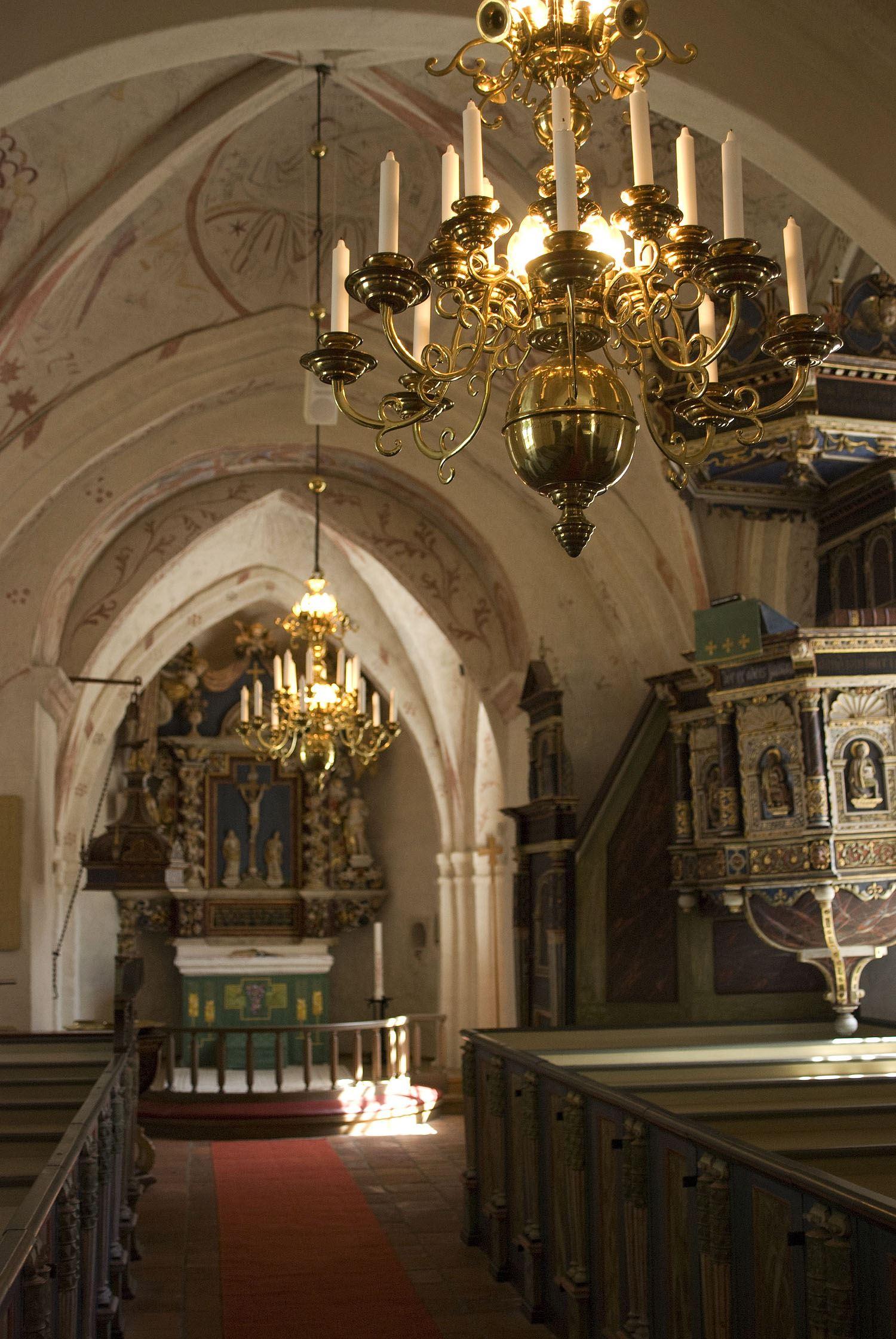 Tobias Delfin, Gualövs kyrka