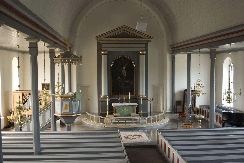 Tobias Delfin, Näsums kyrka