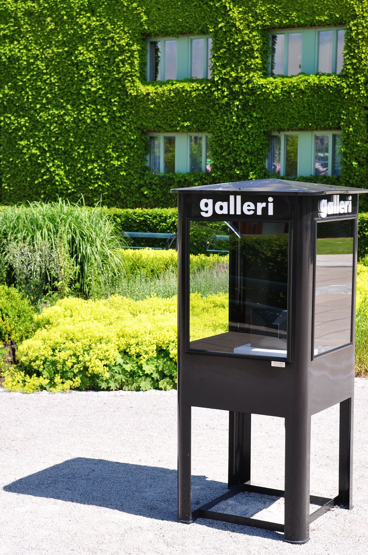 Tobias Delfin, The world's smallest art gallery