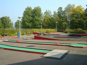 Mini Golf Course Outdoor