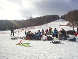 skii slope in Vånga