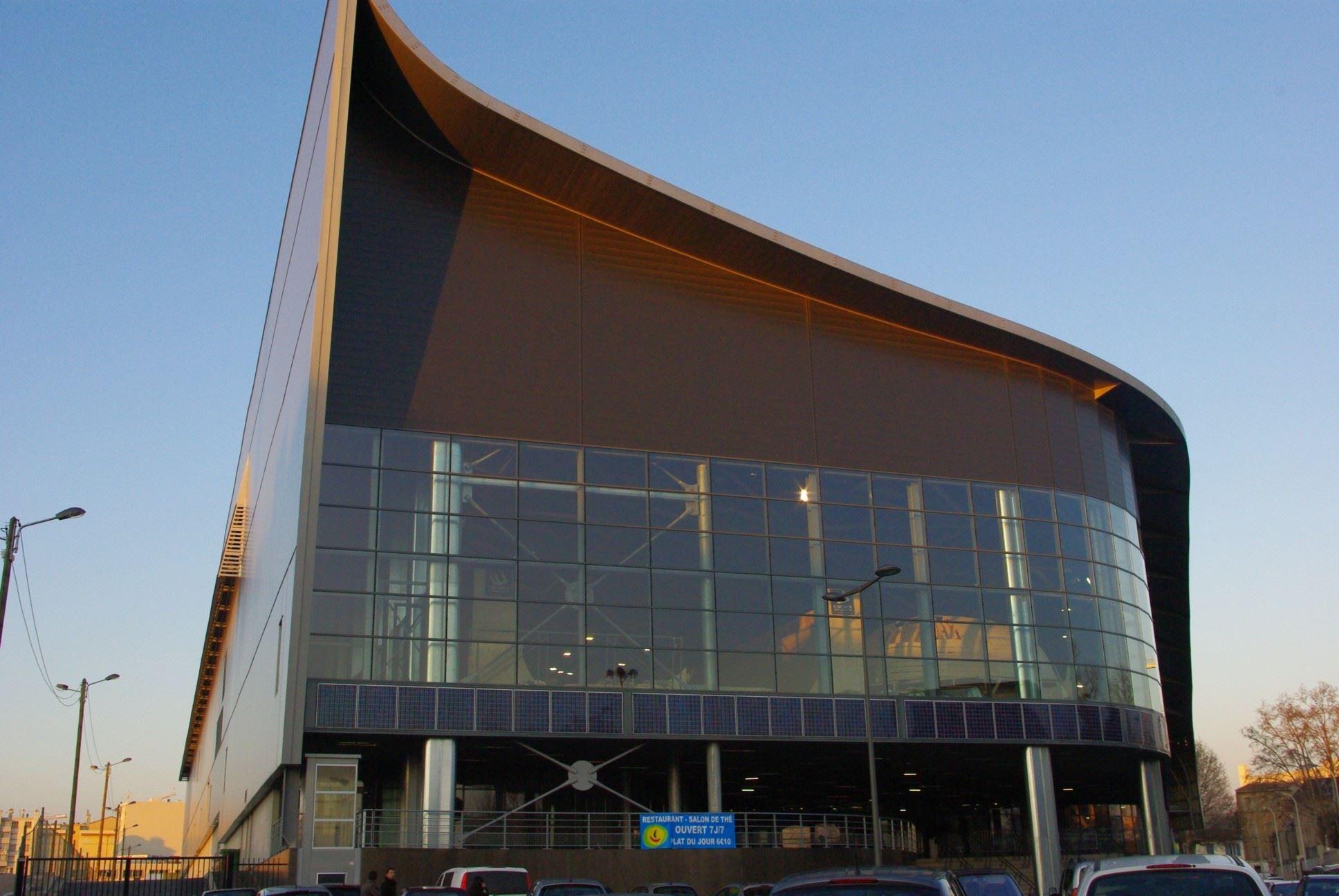 Palais Omnisports Marseille Grand Est- Nouvelle patinoire de Marseille