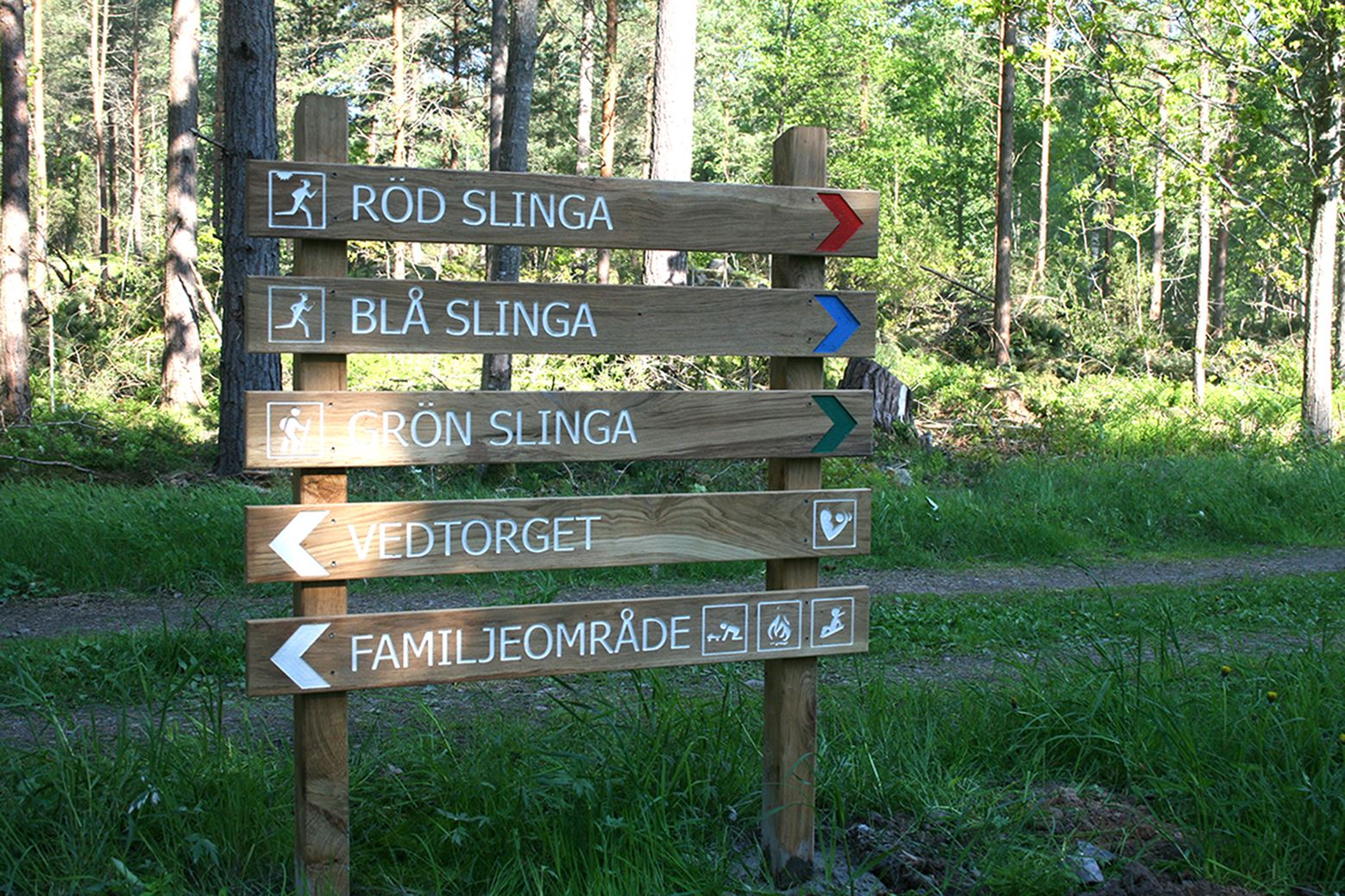 Havslätt jogging trails