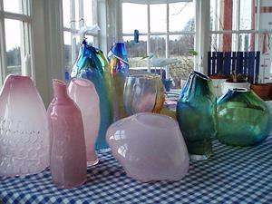 Ann Jansson, Glaskonst